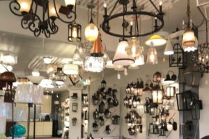 Lighting fixtures store